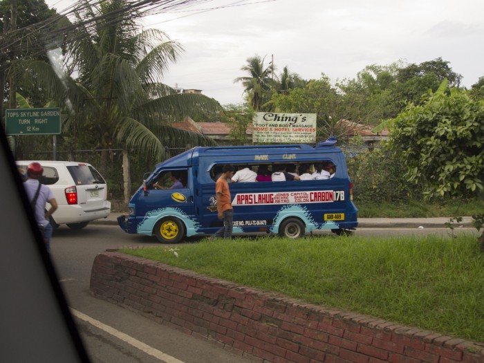 One of Cebu's jeepneys.
