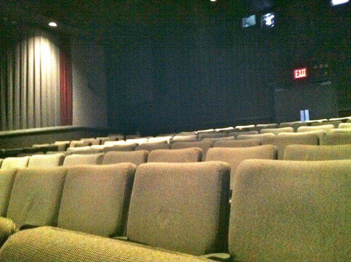 Alone in a Movie Theater