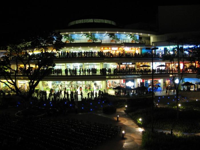 Ayala Center Cebu - Terraces - Nightshot