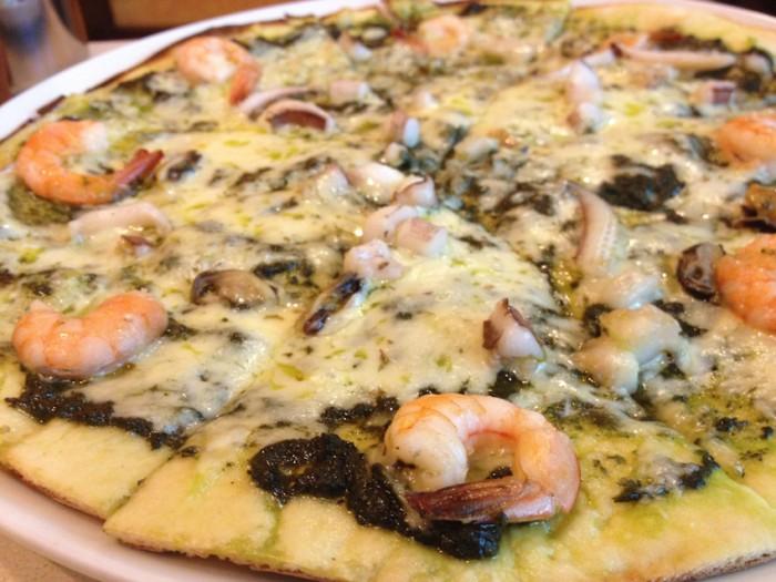 Pesto-Seafood-Pasta