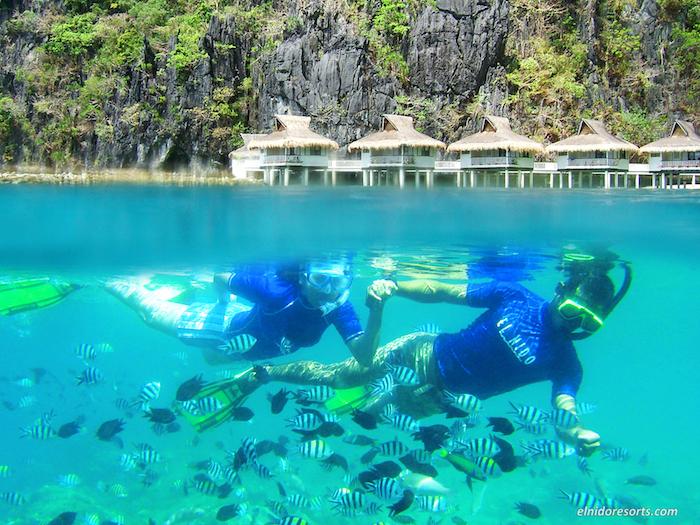 01. El Nido Resorts Activities - Snorkel at Miniloc House Reef