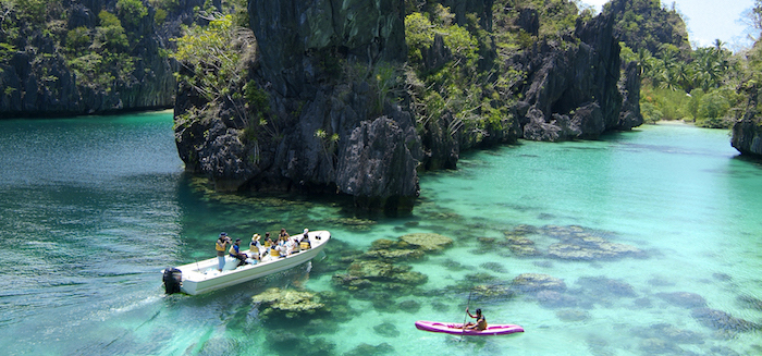 08. El Nido Resorts Activities - Kayaking at the Big Lagoon