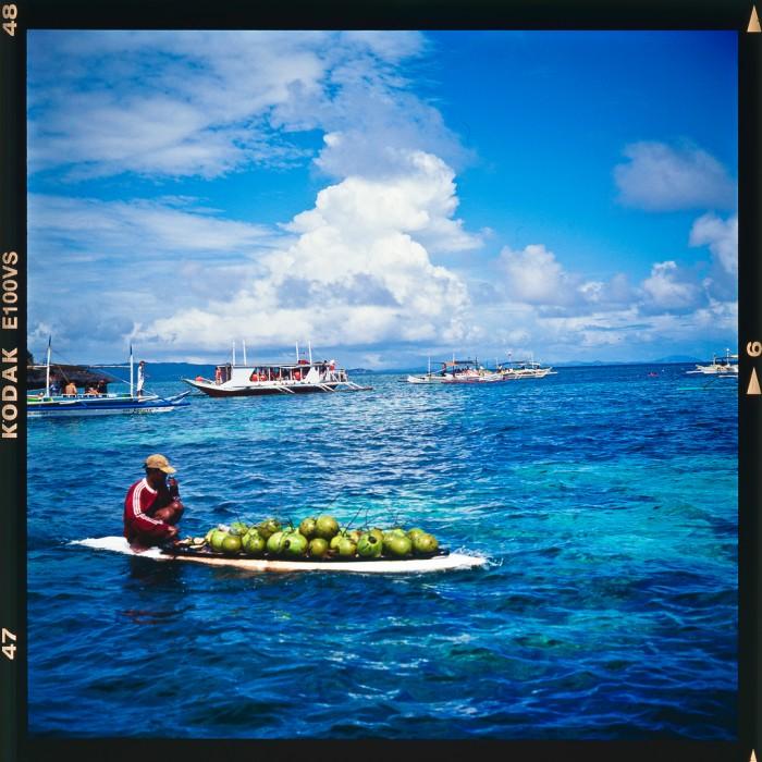 Coconut ship