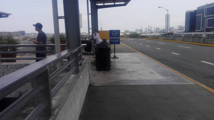 T3 DEPARTURE SMOKING AREA-A